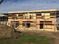 Holzverbundausbauhäuser
